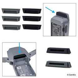 Battery and Charging Port Protectors for DJI Mavic Pro Drone - 8 Pack