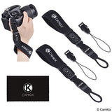 Wrist Straps for DSLR and Compact Cameras - 2 Pack