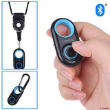 Compact Bluetooth Shutter Remote Control (Blue & White)
