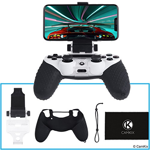 Phone Mount And Skin For Ps4 Controller
