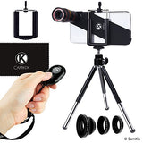 4-in-1 Lens Kit with Shutter Remote for iPhone X / Xs