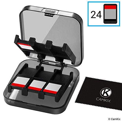 Game Case for Nintendo Switch - Fits up to 24 Games