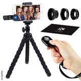 Smartphone Photography Kit with 3in1 Lens Kit