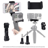 Dual Mount for GoPro Hero and Comapct Cameras