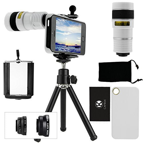 Lens Kit for iPhone 5 - 4in1 - 8x Telephoto