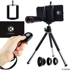 Lens Kit & Shutter Remote for iPhone 6 / 6S and 6 Plus/6s Plus - 4in1 - 8x Telephoto
