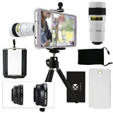Lens Kit for Samsung Galaxy Note 3 - 4in1 - 8x Telephoto