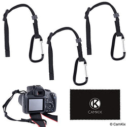 3x Camera Tether with Carabiner