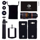 Lens Kit for Samsung Galaxy S8 and S8 Plus - 4in1 - 8x Telephoto Lens