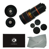 Lens Kit for Samsung Galaxy S4 - 4in1 - 8x Telephoto