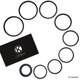 Step Up Lens Filter Adapter Rings - Set of 9