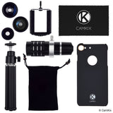 Lens Kit for Apple iPhone 8 Plus and iPhone 7 Plus - 4in1 - 12x Telephoto Lens
