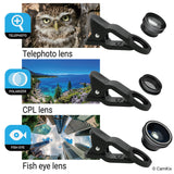 Smartphone Photography Kit with 5in1 Lens Kit