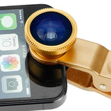 Universal 3in1 Lens Kit for Smartphones and Tablets