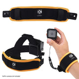 Floating Wrist Strap & Headstrap Floater for GoPro Hero