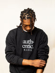 Authentic Unisex Sweatshirt (BLACK)