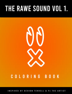 RAWE Sounds Vol 1. Coloring Book