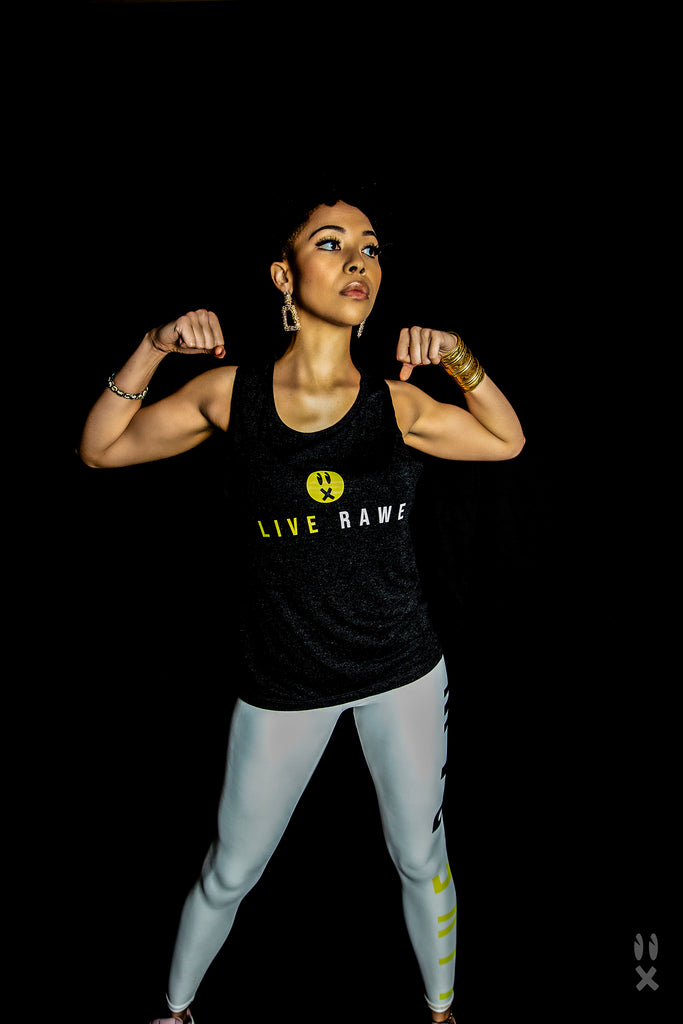 Live RAWE Unisex Muscle Tank