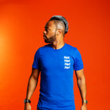 Multi RAWE Short-Sleeve Unisex T-Shirt (LIMITED EDITION ROYAL BLUE)