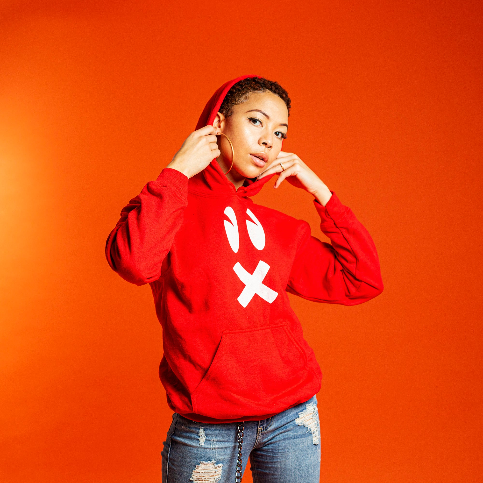 RAWE Logo Unisex Hoodie (LIMITED EDITION RED)