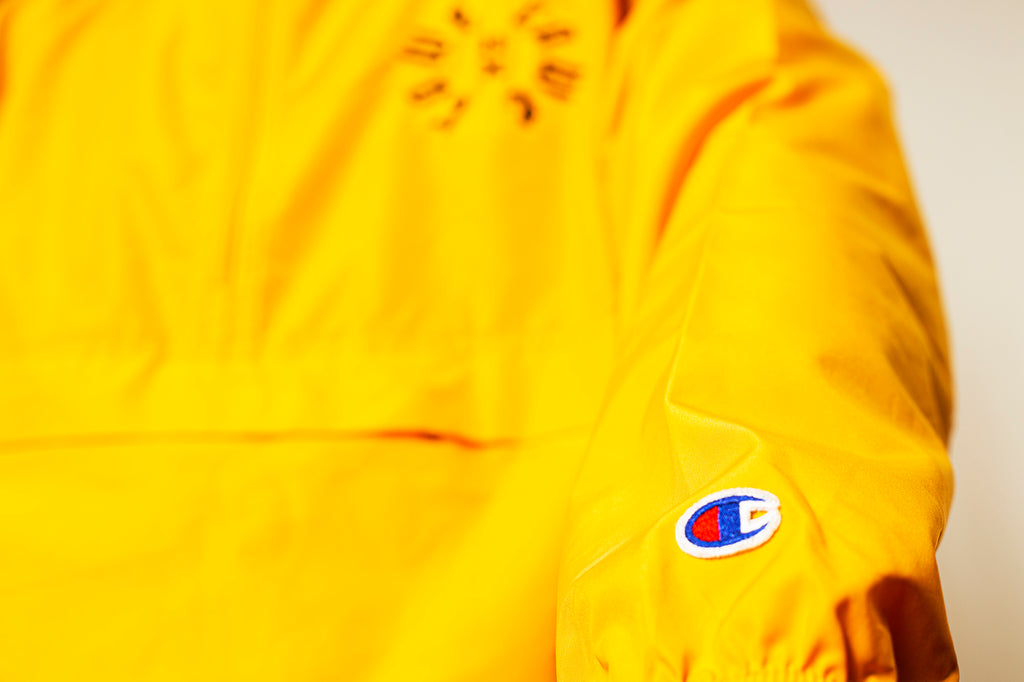 RAWE Cycle Champion Packable Windbreaker Jacket (GOLD)