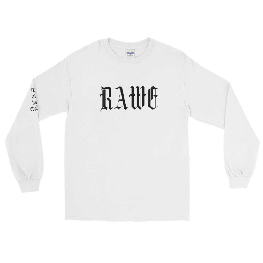 RAWE English Long Sleeve (LIMITED EDITION WHITE)