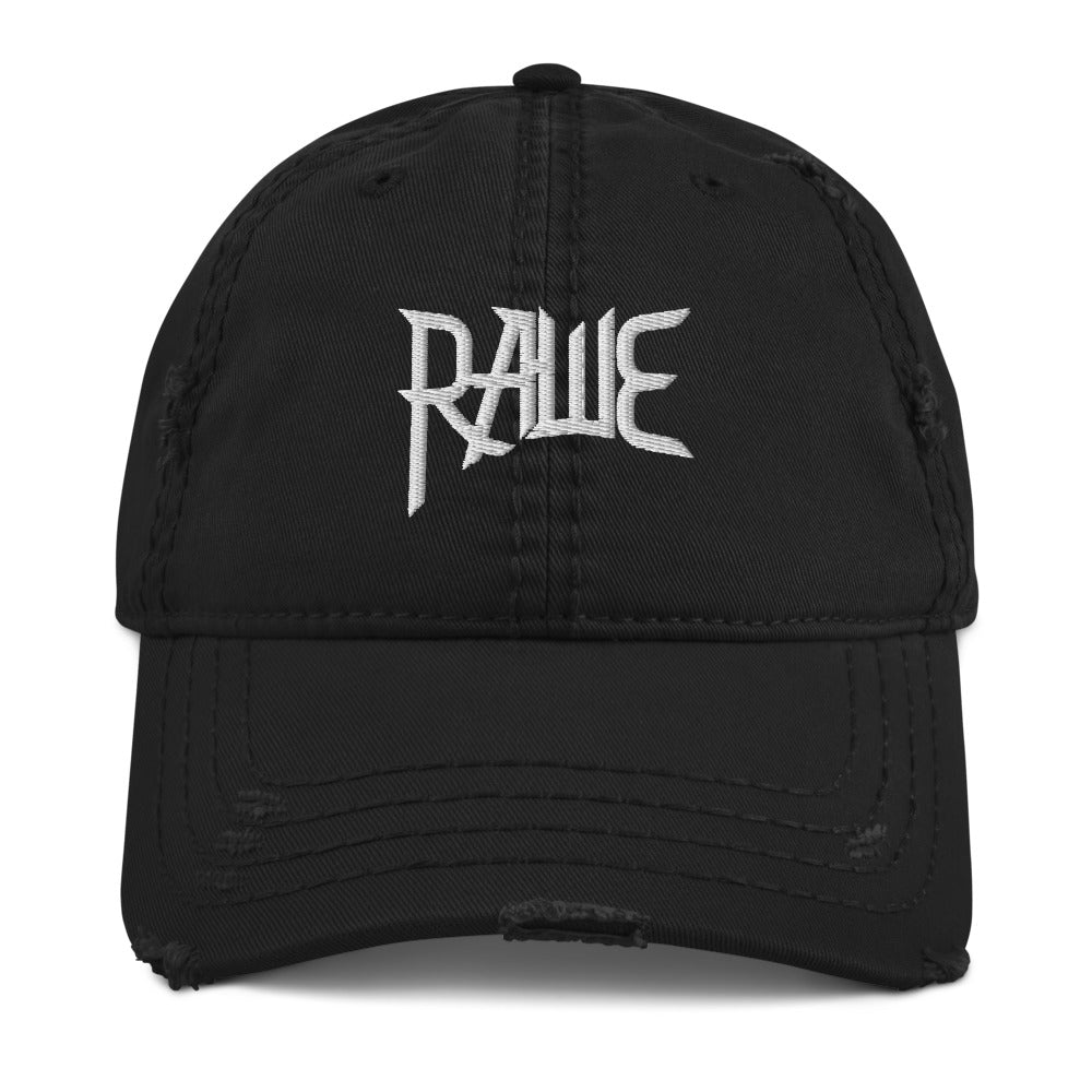 RAWE Band Distressed Dad Hat
