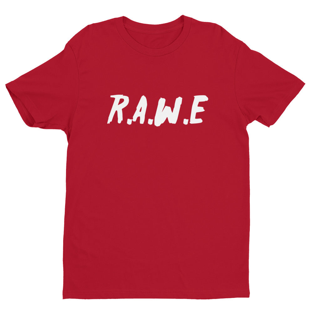 R.A.W.E Logo Short Sleeve T-shirt (RED)
