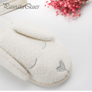 Cute Dog Pattern Cotton Slippers