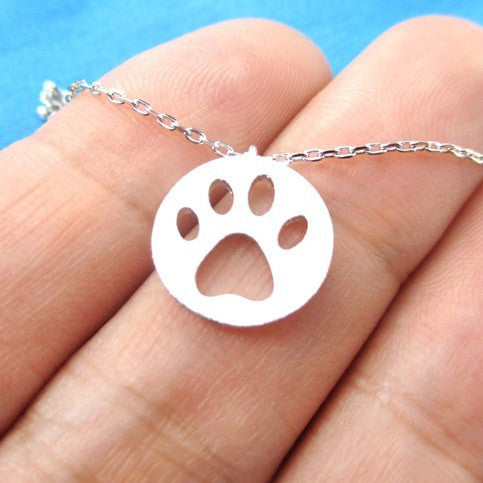 Paw Charm Necklace