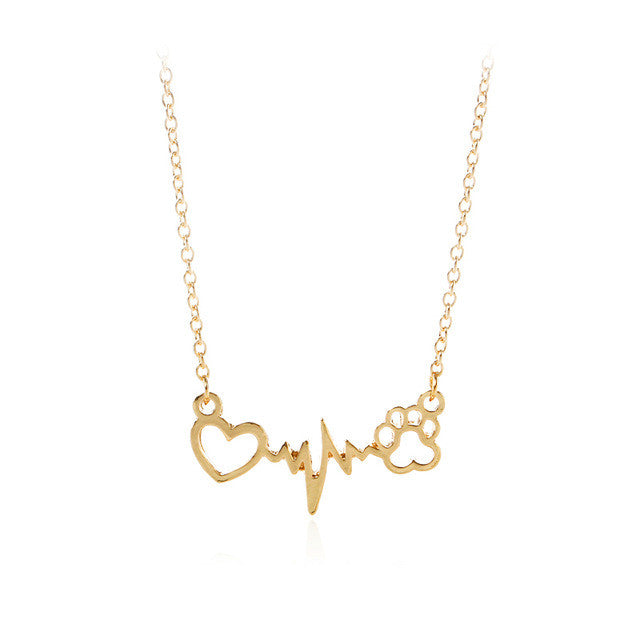 Forever Heartbeat Necklace