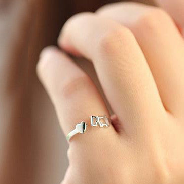 'Always By My Side' Adjustable Ring