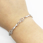 Best Friend Sterling Silver Bracelet