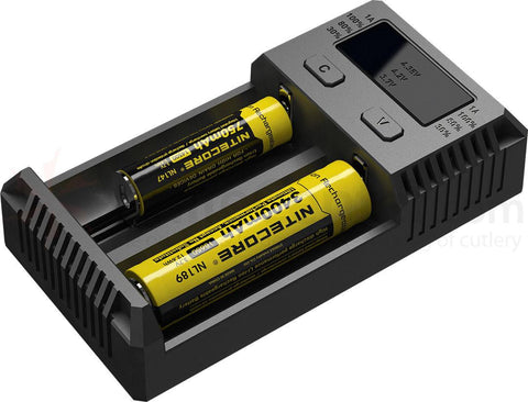 Nitecore I2 Intelligent Charger 18650 batteries