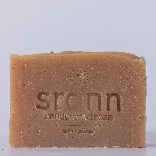 BS19: Unscented MANGOSTEEN PEEL Soap - SRANN