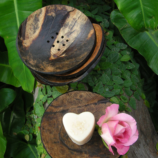 COCONUT SHELL Soap Dish (10 pieces)