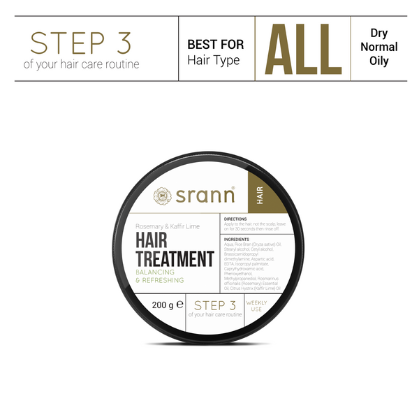 Rosemary & Kaffir Lime Oil HAIR TREATMENT - SRANN