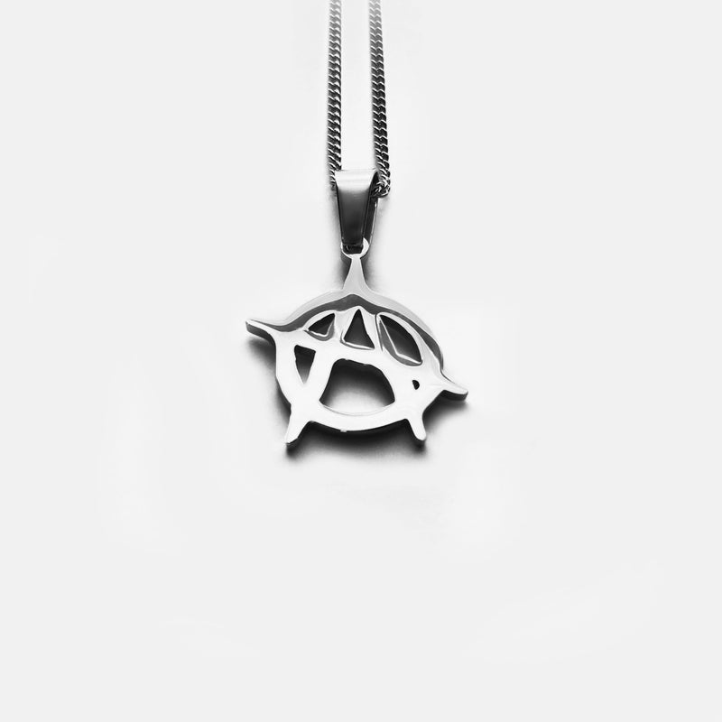 ANARCHY NECKLACE Rare Romance - Jewelry - Fashion - silver - gold - necklace - pendant