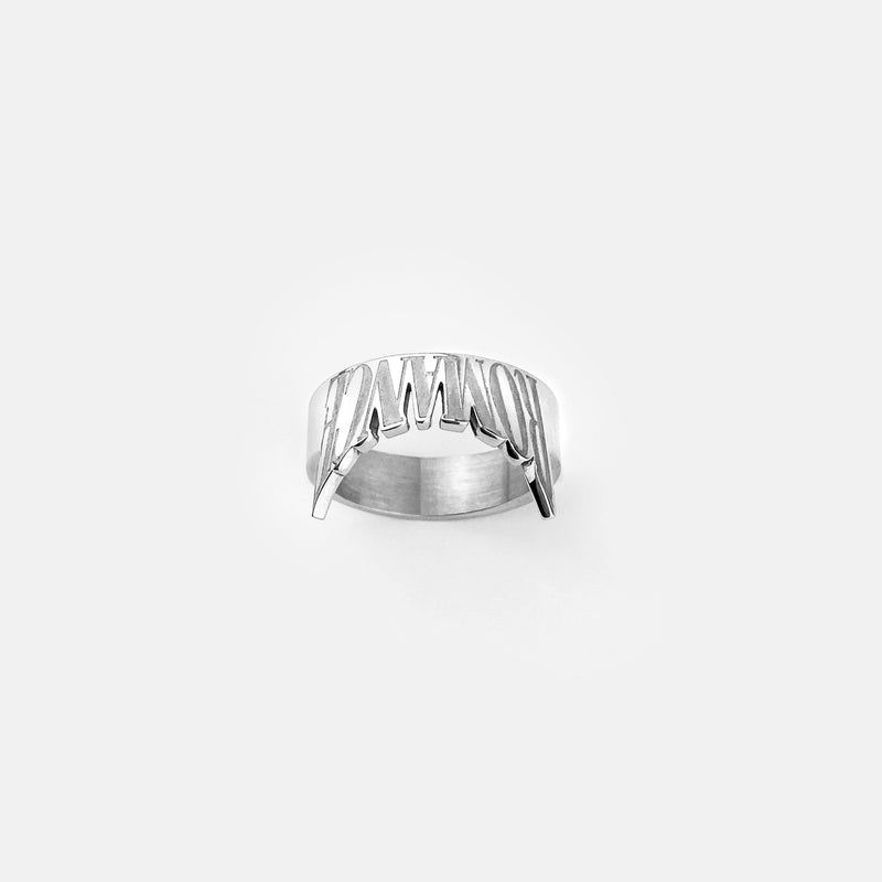 INVERTED ROMANCE RING RARE-ROMANCE™️ RARE-ROMANCEJewelry - Jewelry - Fashion - silver - gold - necklace - pendant  - chain - choker