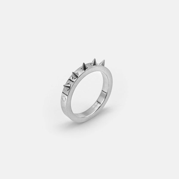 MICRO SPIKE SINGLE BAND RING RARE-ROMANCE™️ RARE-ROMANCEJewelry - Jewelry - Fashion - silver - gold - necklace - pendant  - chain - choker
