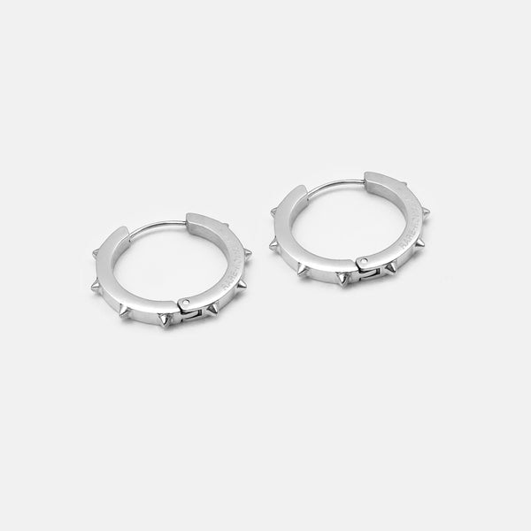 SPIKE HOOP EARRING MEDIUM RARE-ROMANCE™️ RARE-ROMANCEJewelry - Jewelry - Fashion - silver - gold - necklace - pendant  - chain - choker