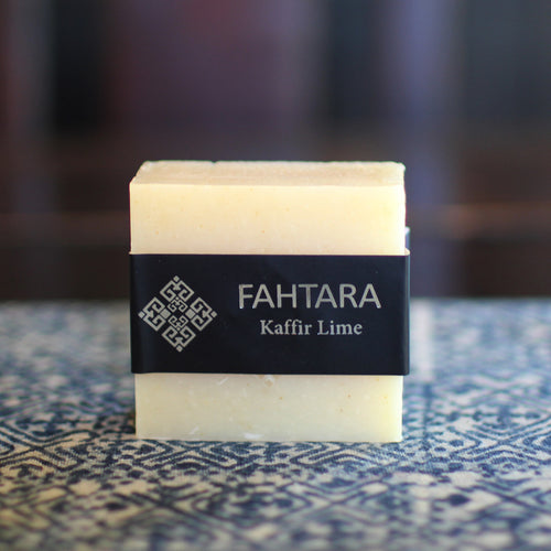 Natural Handmade Kaffir Lime Thai Soap