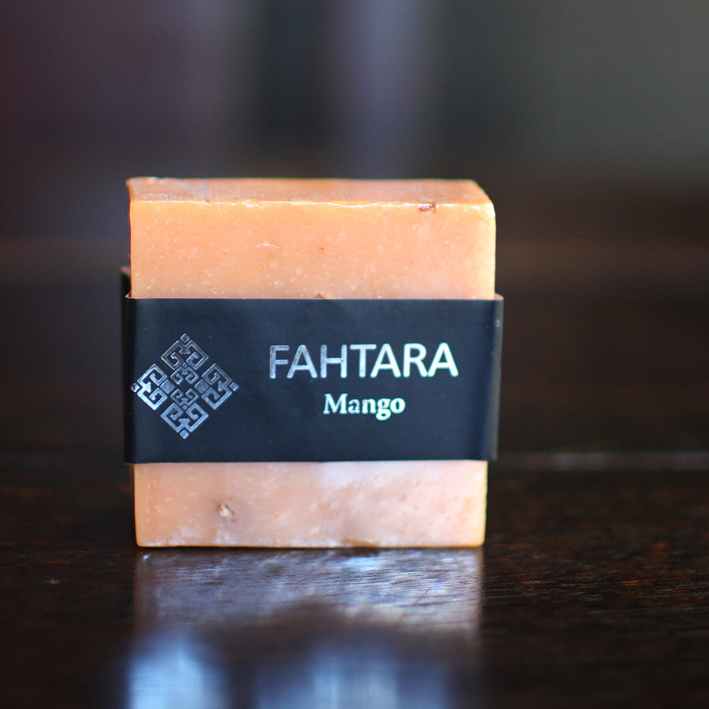 Natural Handmade Mango Thai Soap