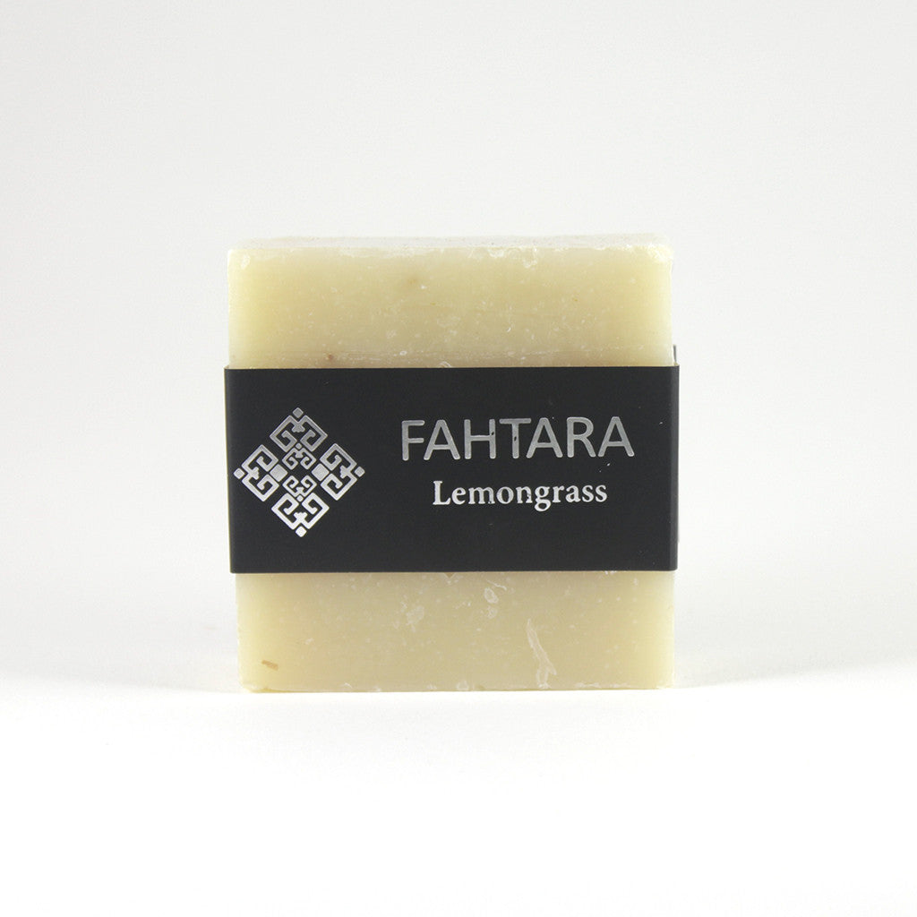 Natural Handmade Lemongrass Thai Soap