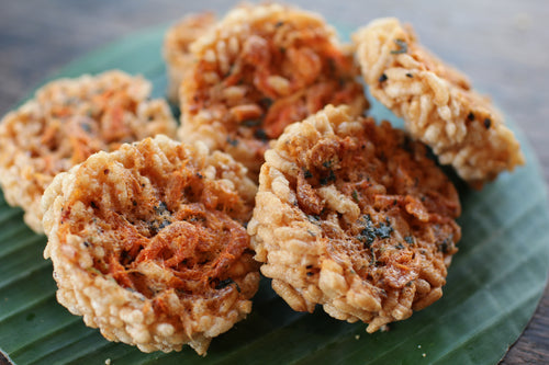 Crispy Rice Cracker Shrimp