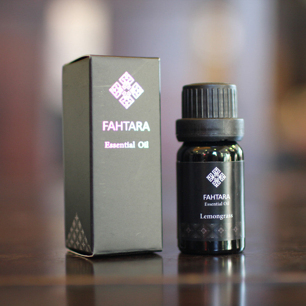 Fahtara Natural Lemongrass Essential Oil