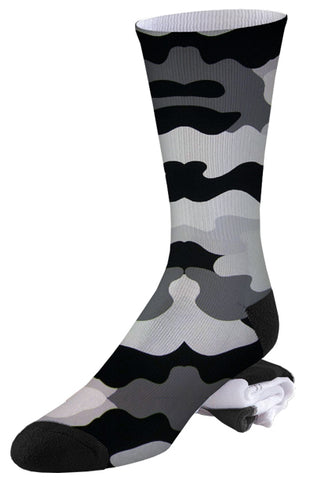 Black, Grey and Camo Socks