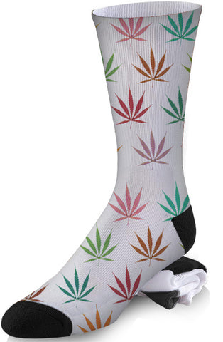 Cannabis In Color Socks