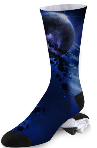 Moon Matter Galaxy Socks