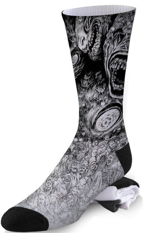 Hell on Earth Socks